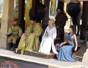 wtf is Tyrion DOING with Daenerys??!?
